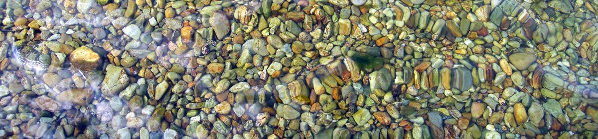 .small stones.
