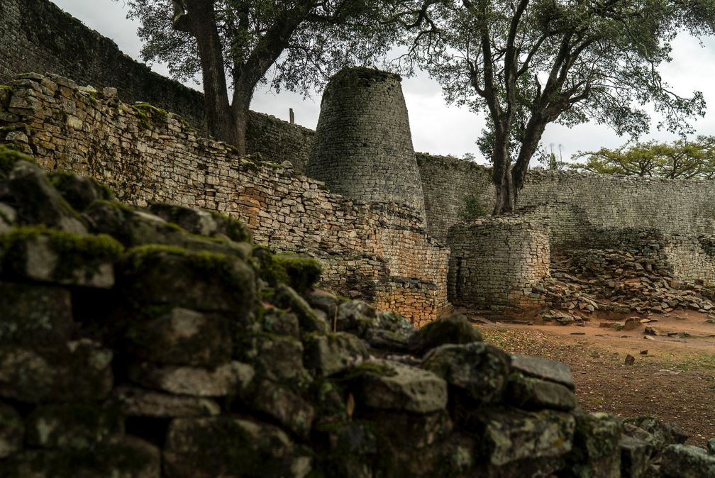 The Remains of Great Zimbabwe