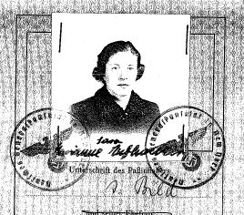 Manna 1938 Passport
